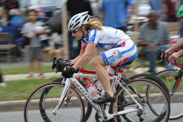 Chevy Chase's Claire Van Ekdom, 16, rises on the U.S. cycling stage