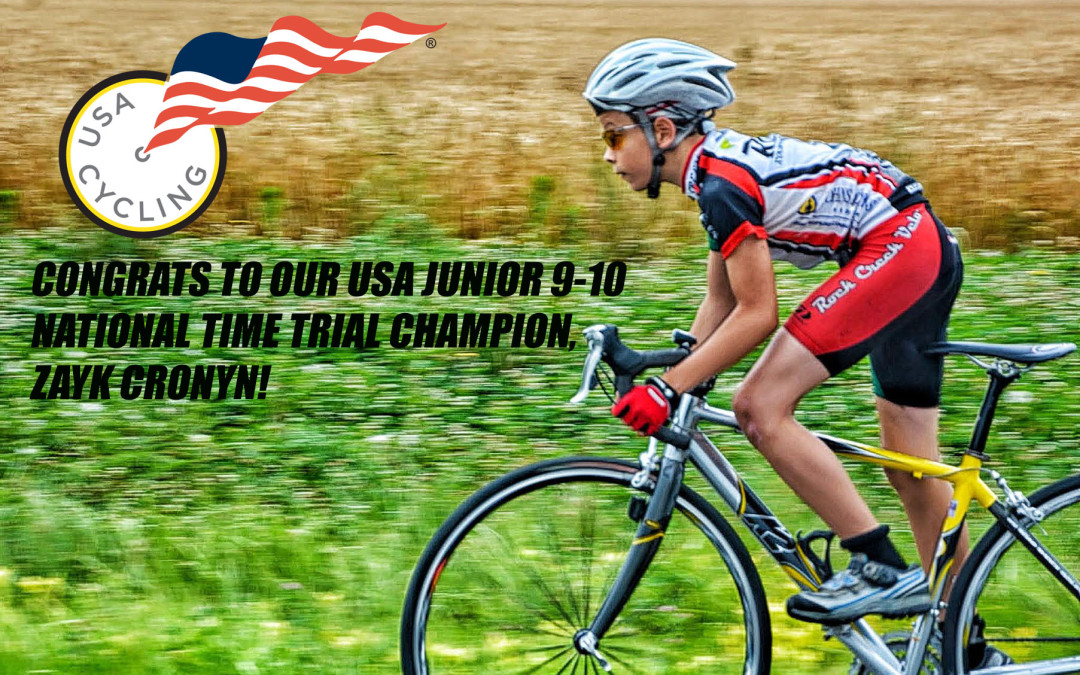 Zayk Cronyn Captures 1st Ever US Cycling National Championship for Rock Creek Velo